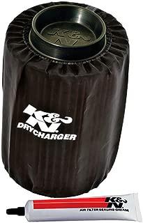 K&N PL-8007DK Black Drycharger Filter Wrap - For Your K&N PL-8007 Filter
