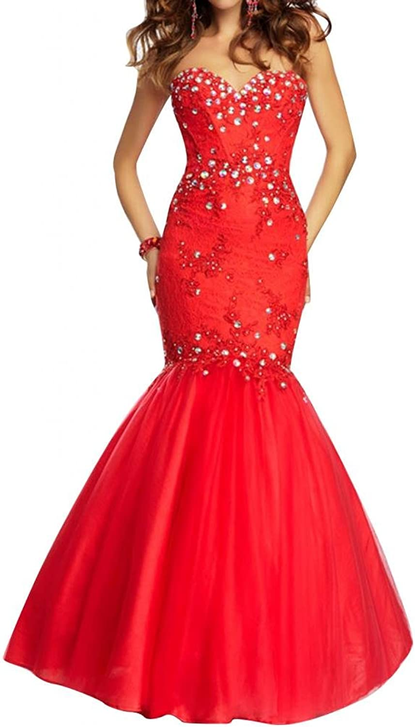 Angel Bride Celebrity Evening Dresses Tulle Mermaid Prom Gowns Long