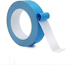 25Mx20mmx0.15mm Thermal Adhesive Tape,High Performance Thermally Double Side Tapes Cooling Pad Apply to Heatsink,LED,IGBT, IC Chip,Computer CPU,GPU,Modules,MOS Tube,SSD Drives