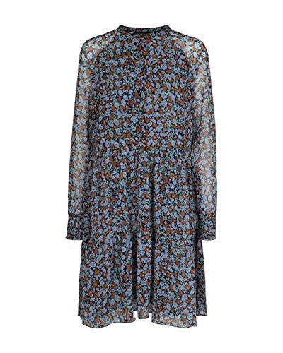 Freequent Kleid Größe S blue mix