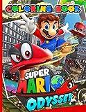 Super Mario Odyssey Coloring Book: Super Mario Odyssey Special Coloring Books For Adult Colouring