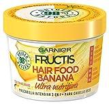 Garnier Fructis Hair Food Mascarilla Nutritiva de Banana para Pelo Seco - 390 ml