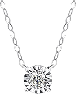 Best white gold birthstone necklace Reviews