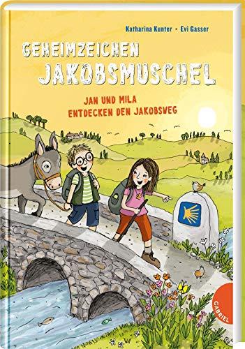 Geheimzeichen Jakobsmuschel. Jan und Mila entdecken den Jakobsweg: | Ein spannendes Kinder Sachbuch über Wandern auf dem berühmtesten Pilgerweg der Welt, für Kinder ab 7 Jahren