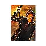Tom Waits Sängerin Leinwand-Poster, Schlafzimmer,