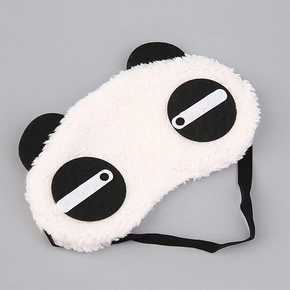経済不利益トレーニングNOTE かわいいパンダの睡眠マスクおかしい睡眠アイマスクアイシェードカバーシェードアイパッチクリエイティブ旅行リラックス睡眠補助目隠し