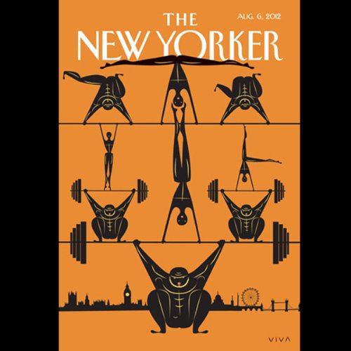The New Yorker, August 6th 2012 (Ryan Lizza, Lauren Collins, Louis Menand) cover art