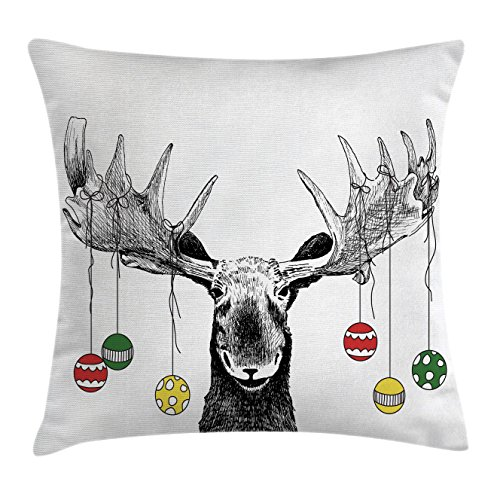Top moose pillow case 18×18 for 2020
