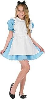 Girls Wonderland Costumes Kids Alice White Rabbit Hatter - Choice of Styles