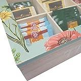 Eliware Teebox 'Tea' mit Mehreren Fächern (Hellbraun)