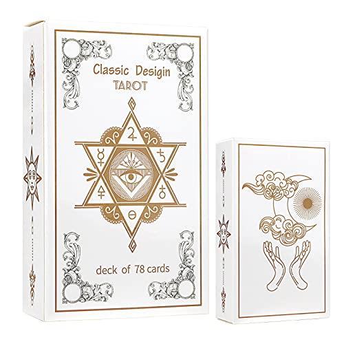 FancyMagic Original Tarot Cards Deck for Beginners...
