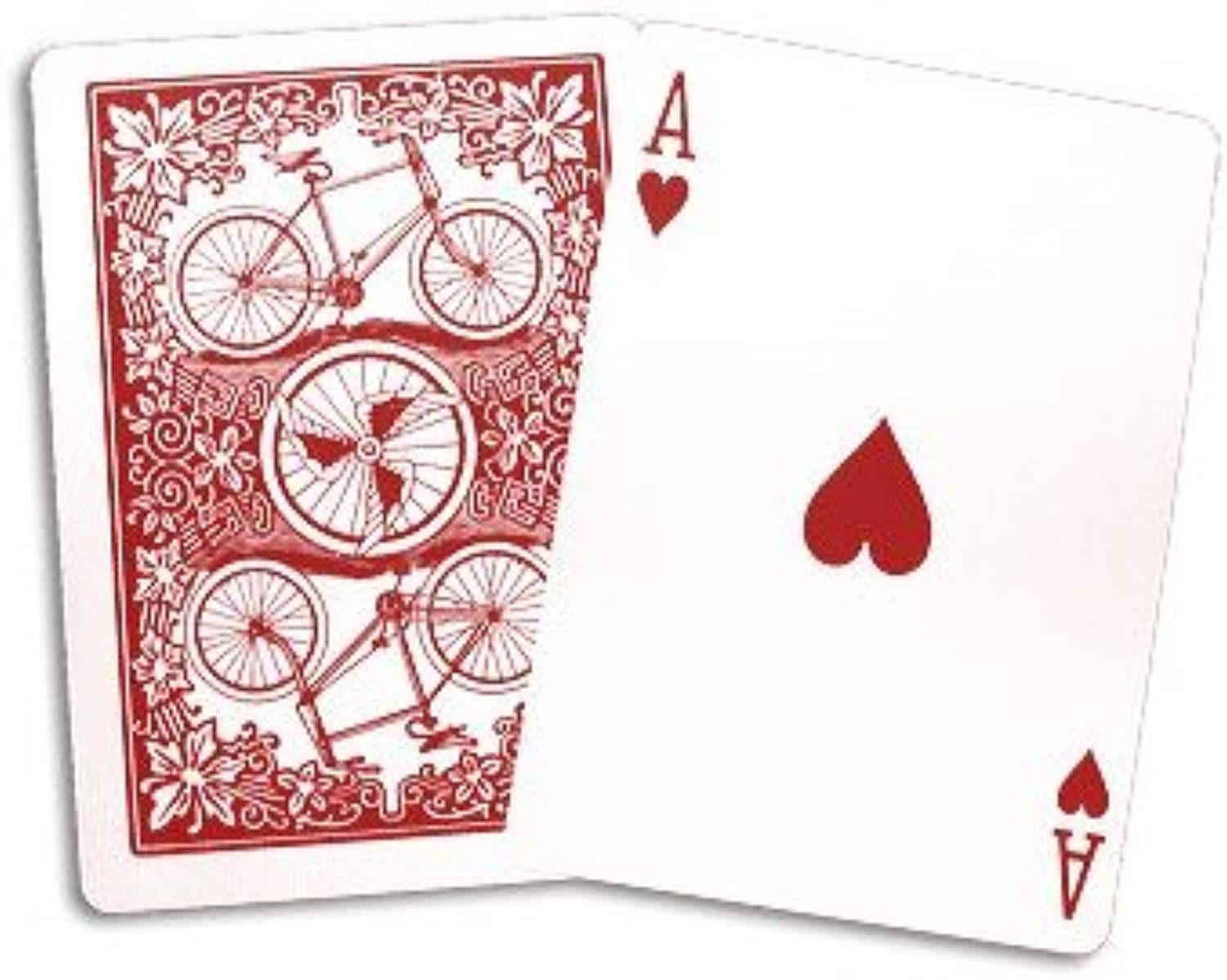 Bicycle league back - Red Back (US Playing Card Company)