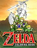 Legend Of Zelda Coloring Book: Legend Of Zelda Creative Coloring Books For Adults, Boys, Girls Colouring Page