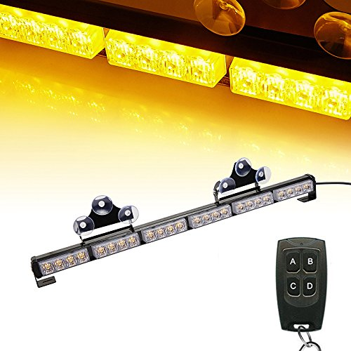 Amber Wireless Light Bars Amazon Com