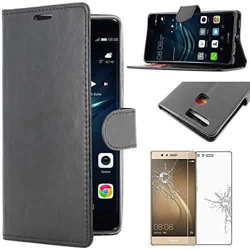 ebestStar - Funda Compatible con Huawei P9 Carcasa Cartera Cuero PU, Funda...