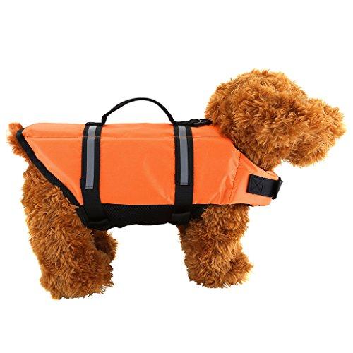mogoko Gilets de salvavidas natación Gilets de seguridad oarange (3tamaños: S-M-L)