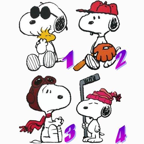 Großer Wandaufkleber Motiv Snoopy
