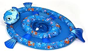 SwimWays Character Baby Spring Float - Fish