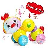 TINOTEEN Juguetes para bebés, Juguete de Oruga de rastreo Musical para niños...