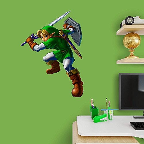 FATHEAD Link: The Legend of Zelda-X-Large Officially Licensed Nintendo Removable Wall Decal