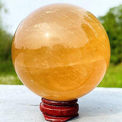 RIMEI Decoraciones para el hogar 3-10cm Esfera de Cristal de Cuarzo calcita...