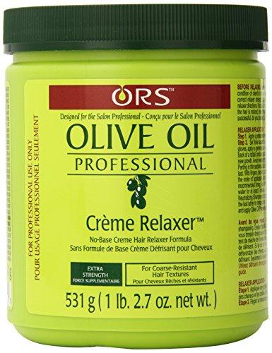 Organic Root Stimulator Défrisant pour Cheveux Epais à l'Huile d'Olive Professional 532g