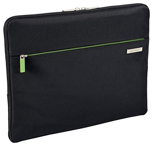 Leitz, Universale Schutzhülle für 13.3 Zoll Laptop, Ultrabook oder Mobilgeräte, Polyester, Complete, Schwarz, 60760095