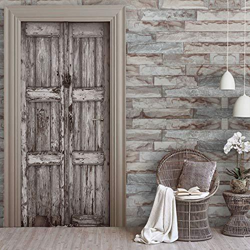 KINLO Carta da Parati Mattoni 0.6 * 5M effetto mattone/pietra PVC Impermeabile Adesivo da parete,autoadesive rinnovato mobili/Bagno/Parete/Cucina Parete posteriore(1 Rotolo)