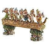 ディズニー トラディション  Enesco Disney Traditions Seven Dwarfs 置物 フィギュア 7人のこびと 【並行輸入品】