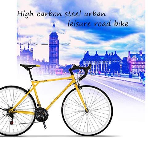 CLOUDH Bici da Strada 700C Ruote Gravel Adventure Bici da Corsa Sportiva, Shimano 21 Marce Bicicletta per Il Tempo Libero da Città per Esterno Urbano