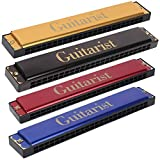 kh GUITARIST GT-24 Mouth Organ Harmonica 48 holes For Childerns (Multicolor) Pack of 1
