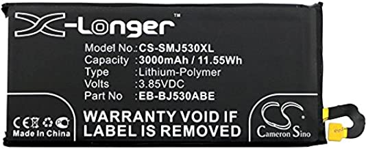 Cameron Sino 3000mAh Replacement Battery for Samsung Galaxy J5 2017, Samsung SM-J530L, Samsung Galaxy J5 2017 TD-LTE, Samsung SM-J530K, Samsung SM-J530S, Samsung SM-J530F/DS with 7/pcs Toolskits