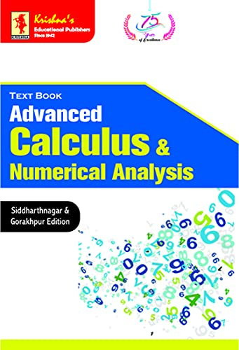 TB Advanced Calculus & Numerical Analysis   Pages440   Code 1053   2nd Edition   Concepts + Theorems