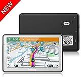 GPS para Coches, Hieha 5' Navegador GPS 8GB Pantalla Táctil De Alta definición, Mapa de 48 Países, Actualizaciones Gratis de mapas de por Vida