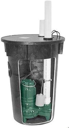 discount Zoeller wholesale M266 Sewage Pump Packaged wholesale System outlet sale