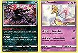 Pokemon Legendary Set - Darkrai 105/189 & Cesselia - Darkness Ablaze Sword & Shield - Rare Card Lot