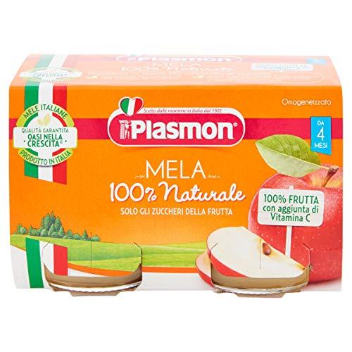 Plasmon Omogeneizzato Mela 2x104g