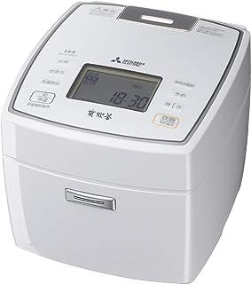 三菱電機 IH炊飯器 日本製 備長炭炭炊釜 5.5合 NJ-VVA10-W