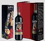 Questa edizione limitata celebra il 700º anno della morte del sommo poeta Dante Alighieri, autore della Divina Commedia e icona della cultura italiana nel mondo. L'etichetta è opera dell'artista canadese Rick Rojnic (2018), reinterpretazione del ritr...