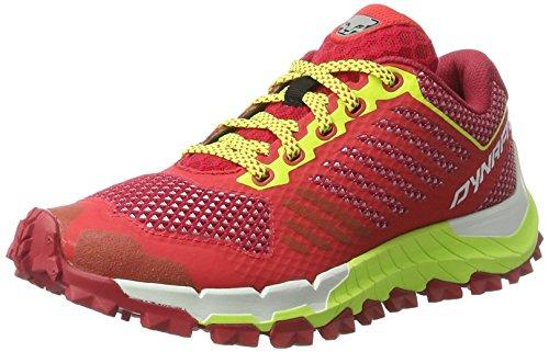 DYNAFIT Damen Trailbreaker W Traillaufschuhe, Rot (Crimson/Fluo Yellow), 40 EU