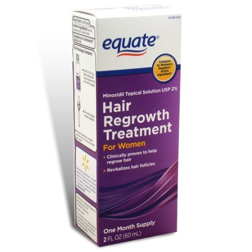 Equate - Hair Regrowth Treatment for Women with Minoxidil 2% Extra Strength, 2 fl oz