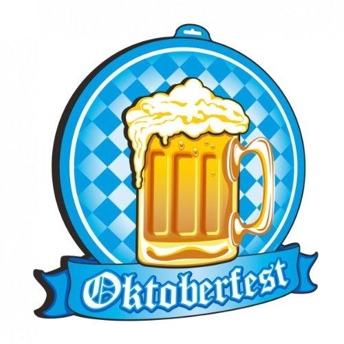 Folat Chope de bière Oktoberfest Signe 3D, 20951, Multicolore