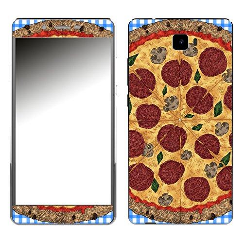 Disagu SF-106923_899 Design Skin für Archos 55 Cobalt Plus - Motiv Pizza_blau kariert