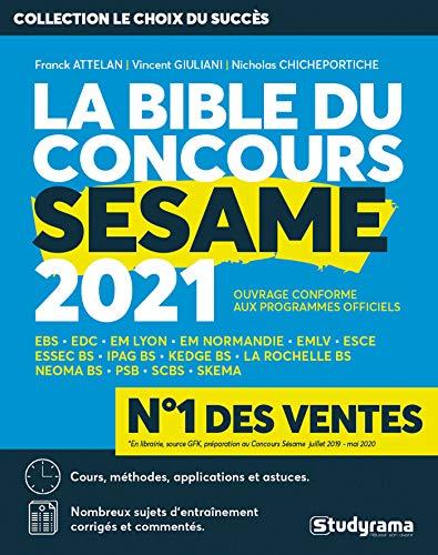 La Bible du concours SESAME