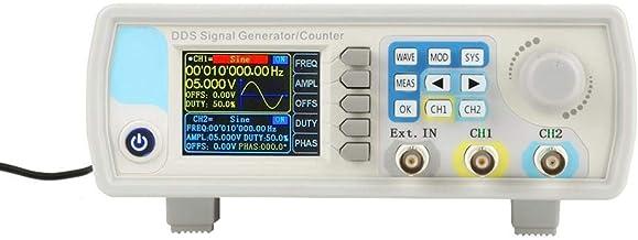 Gerador de sinal, JDS6600 60MHz DDS Multi-Functional Function Generator Controle digital Seno Freqüência Arbitrary Wavefor...