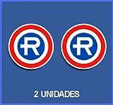 Ecoshirt 8A-KVEP-9VHY Pegatinas Stickers Repsol Ref: Dp76 Aufkleber Autocollants Adesivi Moto Decals Motrocycle, 10 cm