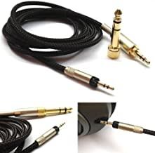 NewFantasia Replacement Upgrade Cable for Audio Technica ATH-M50x, ATH-M40x, ATH-M70x Headphones 3meters/9.9feet