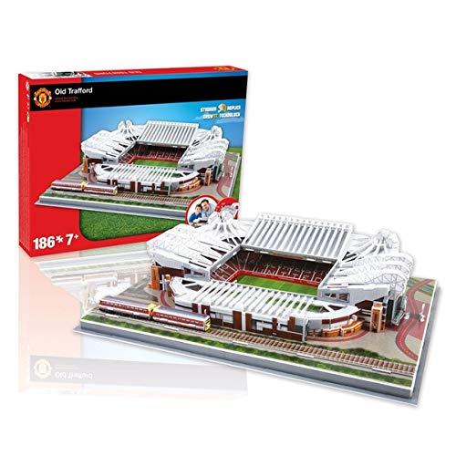 Kids Brain Teaser Manchester United Old Trafford Football Stadium 3D Jigsaw Puzzle