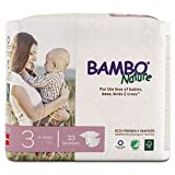 Bambo Nature Eco Friendly Premium Baby Diapers for Sensitive...