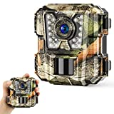 Wosports Mini Trail Camera 1080P HD Wildlife Scouting Hunting Camera...